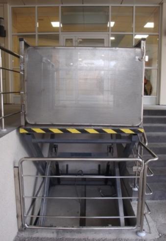 Підйомник для лікарняних каталок