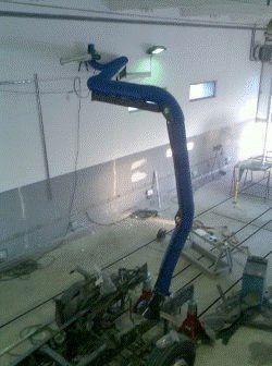 консоль удаления сварочных газов